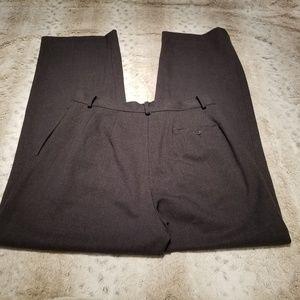 Eddie Bauer Pants - Eddie Bauer High Waisted Grey Classic Fit Trouser